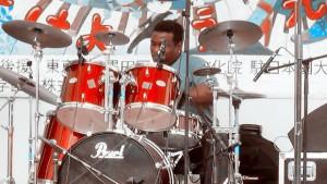 Sumida Jazz fest 2012,drum solo