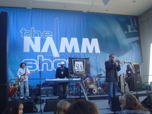Patrick Charles Makandel Group, life music, life rhythms @ NAMM!