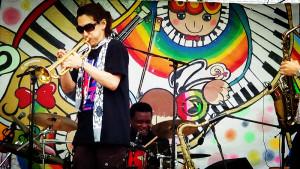Sumida Jazz fest 2014,trumpet