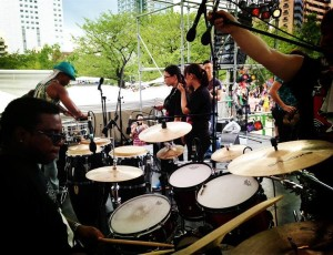 Souncheck at Sumida Jazz fest 2014