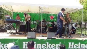 Sound check, Sumida Jazz festival 2013, Tokyo!